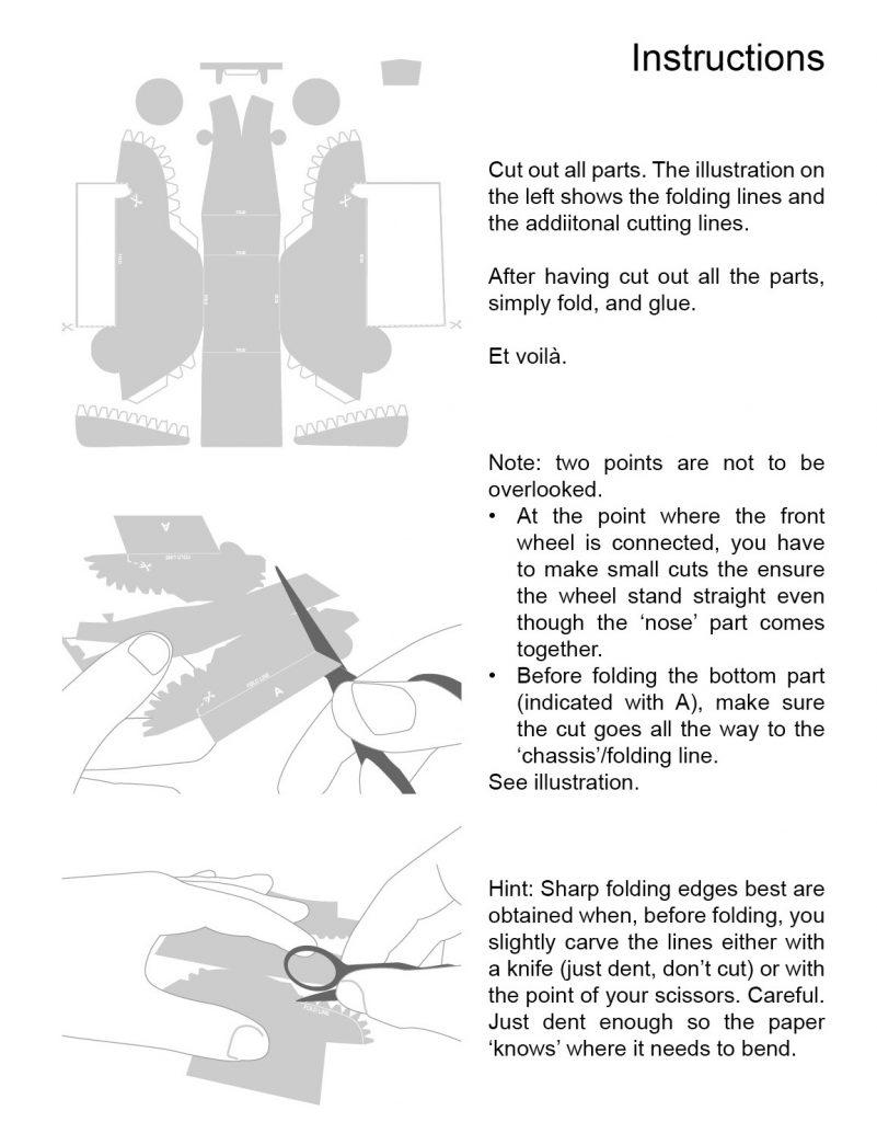 2cv Papercraft Educati